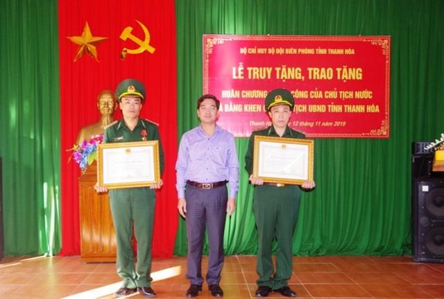 Truy tặng huân chương chiến công cho sĩ quan biên phòng hi sinh khi truy bắt tội phạm - 2