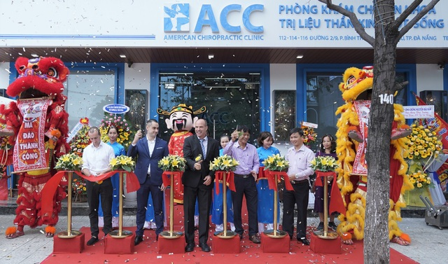 ACC khai trương phòng khám Trị liệu thần kinh cột sống mới tại Đà Nẵng - 1
