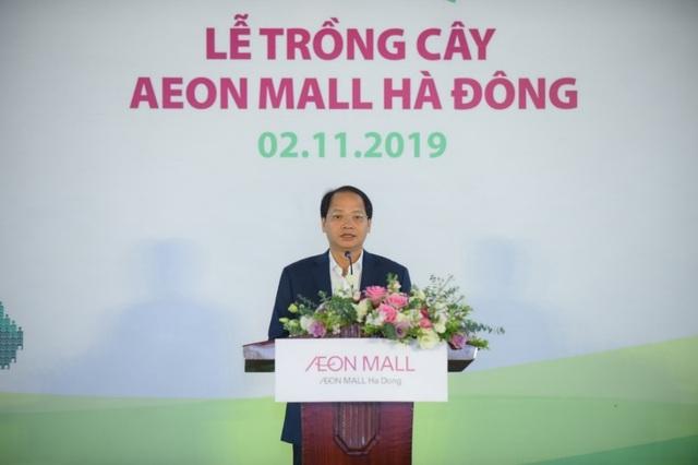 """AEON – Hà Đông """"dệt"""" mảng xanh cho cộng đồng địa phương trước khai trương - 1"""