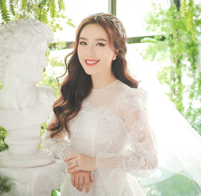 Bảo Thy xác nhận lên xe hoa, tiết lộ ảnh cưới cùng ông xã Phan Lĩnh - 3