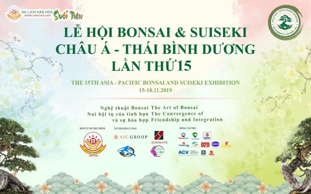 Lễ hội Bonsai  Suiseki Châu Á - Thái Bình Dương tại Suối Tiên - 1