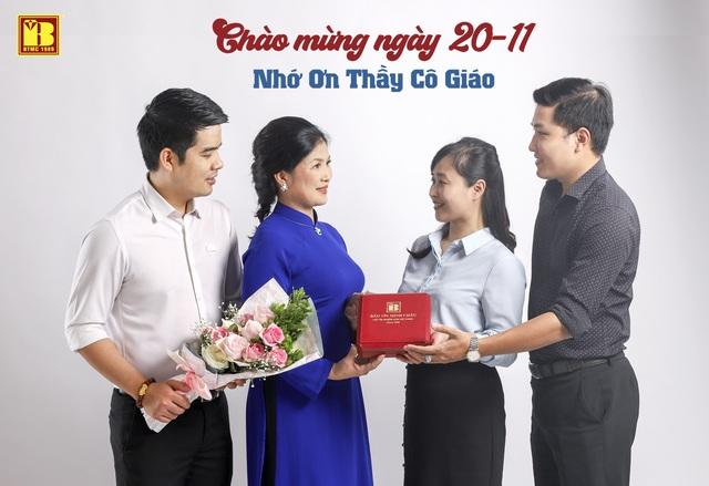 """Tri ân ngày Nhà giáo Việt Nam: Đến Bảo tín Minh Châu """"mua một, tặng một"""" - 1"""