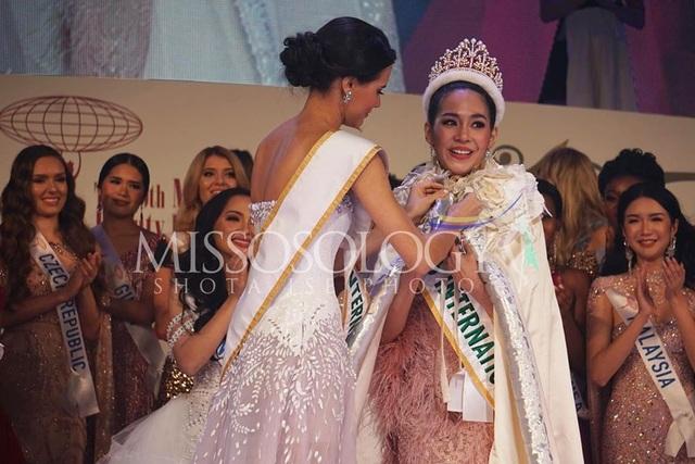Hoa hậu Quốc tế 2019: Tường San lọt top 8, người đẹp Thái Lan giành vương miện - 1