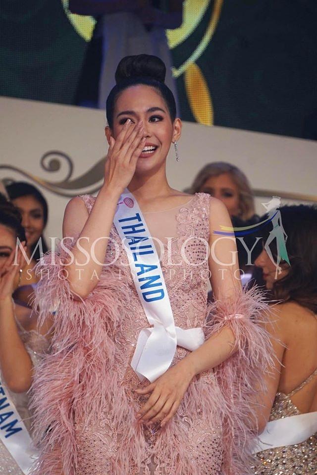 Hoa hậu Quốc tế 2019: Tường San lọt top 8, người đẹp Thái Lan giành vương miện - 11