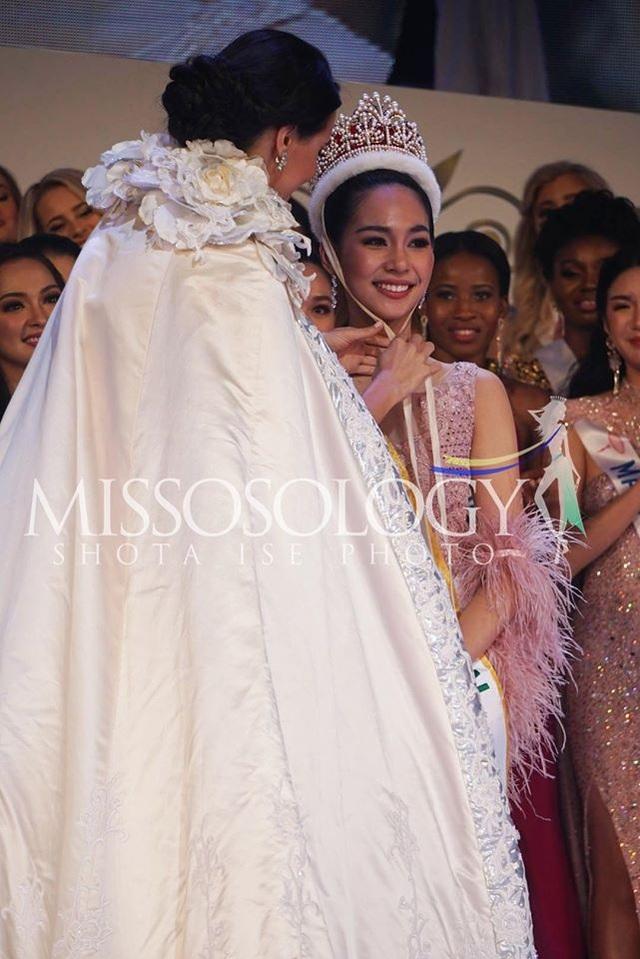 Hoa hậu Quốc tế 2019: Tường San lọt top 8, người đẹp Thái Lan giành vương miện - 3