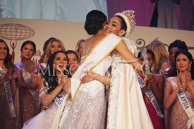 Hoa hậu Quốc tế 2019: Tường San lọt top 8, người đẹp Thái Lan giành vương miện - 2