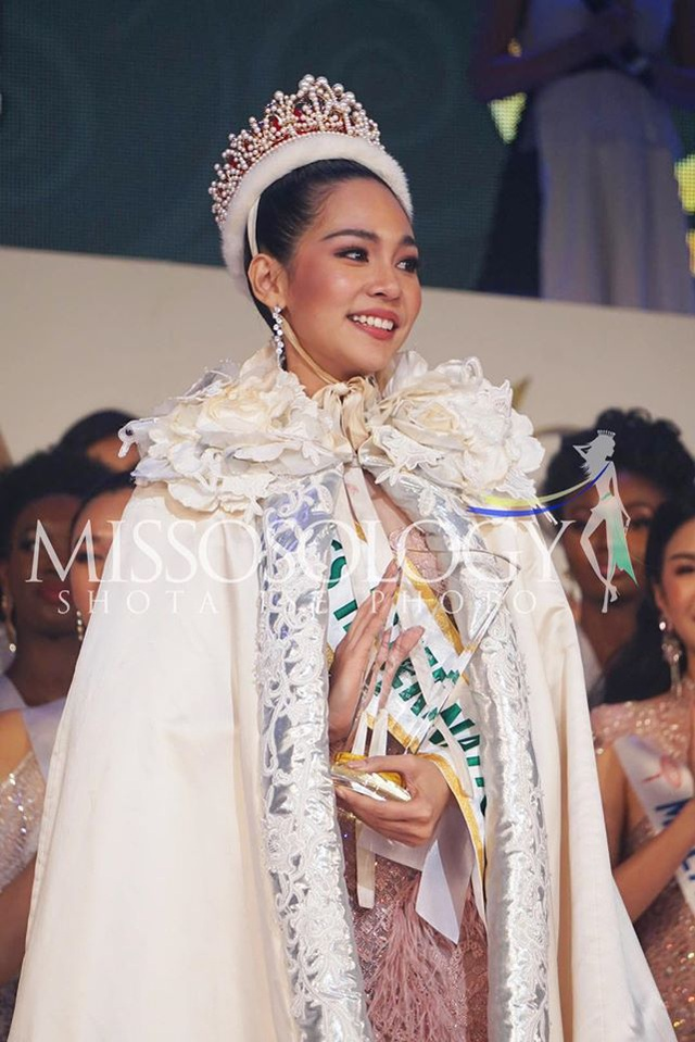 Hoa hậu Quốc tế 2019: Tường San lọt top 8, người đẹp Thái Lan giành vương miện - 8
