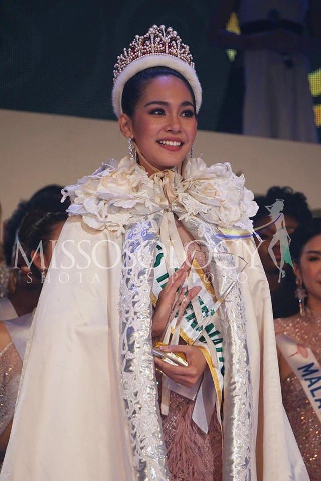 Hoa hậu Quốc tế 2019: Tường San lọt top 8, người đẹp Thái Lan giành vương miện - 4