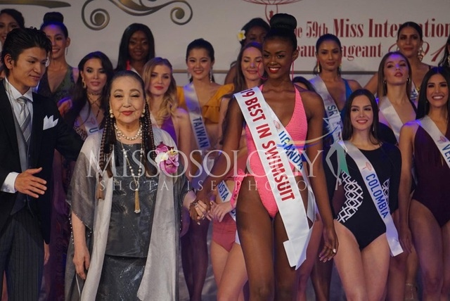 Hoa hậu Quốc tế 2019: Tường San lọt top 8, người đẹp Thái Lan giành vương miện - 41