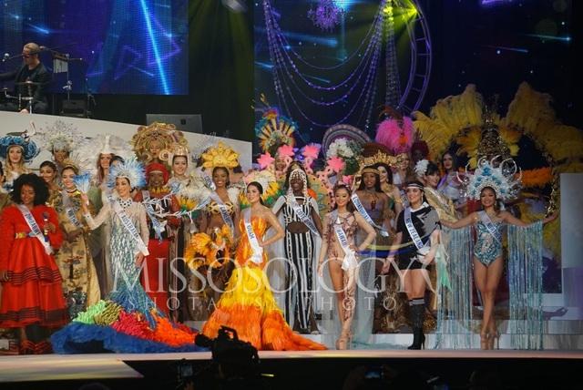 Hoa hậu Quốc tế 2019: Tường San lọt top 8, người đẹp Thái Lan giành vương miện - 44