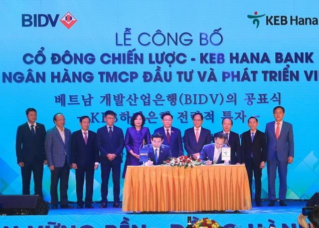 BIDV công bố cổ đông chiến lược, trở thành ngân hàng có vốn điều lệ lớn nhất Việt Nam - 1