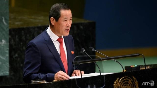 """Triều Tiên cáo buộc Mỹ """"thù địch"""" giữa Liên Hợp Quốc - 1"""