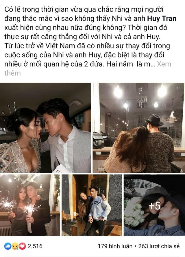 Rich kid Thảo Nhi xác nhận chia tay bạn trai sau 2 năm hẹn hò - 1