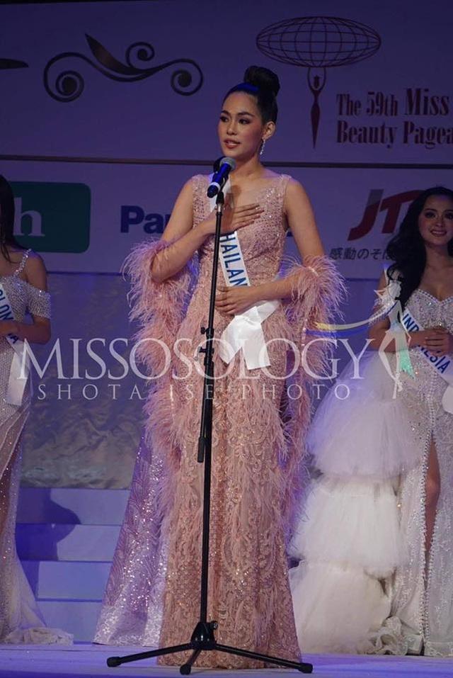 Hoa hậu Quốc tế 2019: Tường San lọt top 8, người đẹp Thái Lan giành vương miện - 16