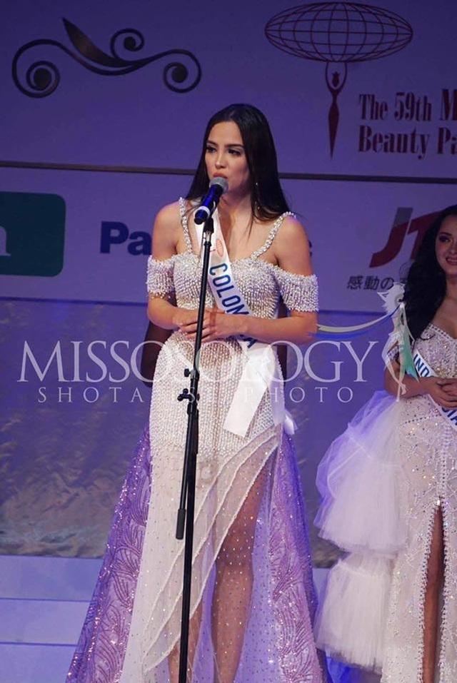Hoa hậu Quốc tế 2019: Tường San lọt top 8, người đẹp Thái Lan giành vương miện - 13