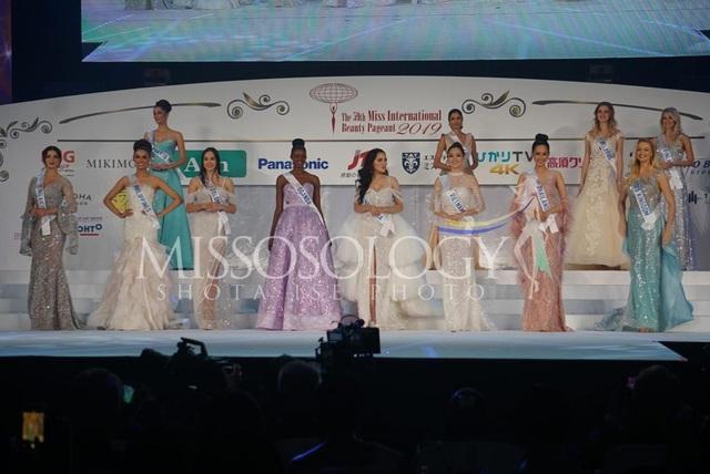 Hoa hậu Quốc tế 2019: Tường San lọt top 8, người đẹp Thái Lan giành vương miện - 22
