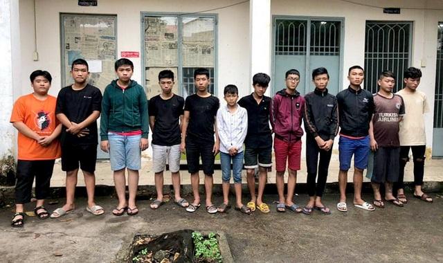 Bắt 20 thanh thiếu niên hỗn chiến do tranh giành địa bàn làm ăn - 1