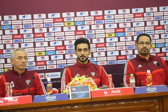 """HLV UAE: """"Đội tuyển Việt Nam mạnh nhất bảng G"""""""