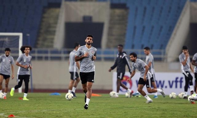 Đội tuyển UAE làm quen thời tiết Hà Nội và mặt sân Mỹ Đình - 5
