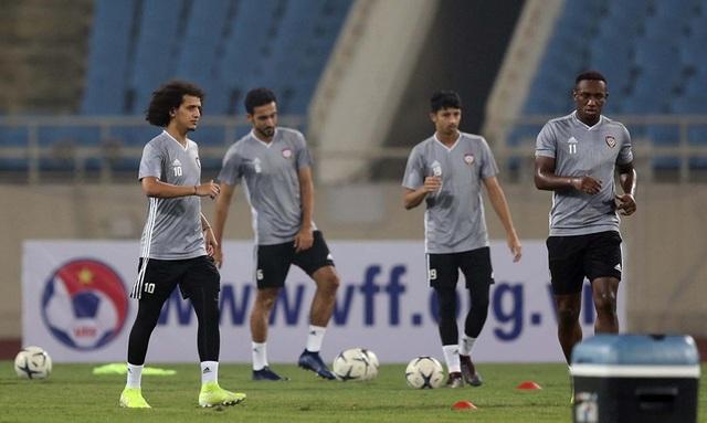 Đội tuyển UAE làm quen thời tiết Hà Nội và mặt sân Mỹ Đình - 3