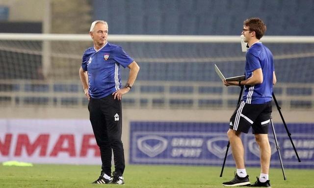 Đội tuyển UAE làm quen thời tiết Hà Nội và mặt sân Mỹ Đình - 4
