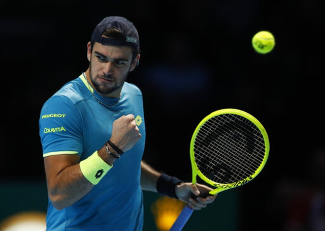 "ATP Finals: Thua Thiem, Djokovic buộc phải ""tử chiến"" với Federer - 1"