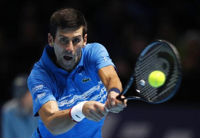 "ATP Finals: Thua Thiem, Djokovic buộc phải ""tử chiến"" với Federer - 3"