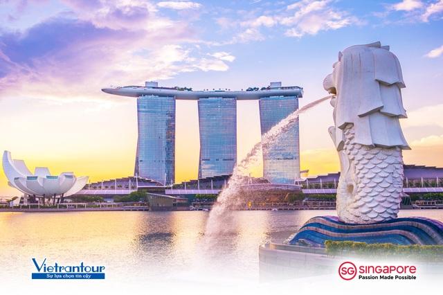 Cùng Vietrantour khám phá Singapore đầy sắc màu mới lạ - 1