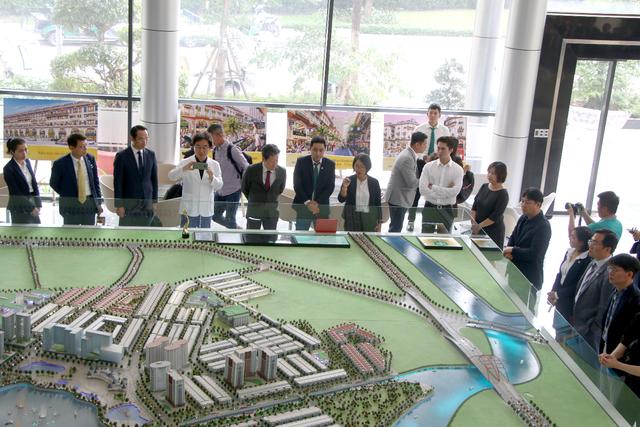 Hiệp hội Doanh nghiệp TP.Daegu Hàn Quốc mở đường đầu tư vào Khu đô thị Vạn Phúc - 3