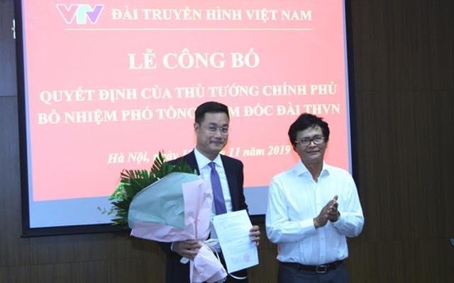 Ông Lê Ngọc Quang giữ chức Phó Tổng giám đốc VTV - 1
