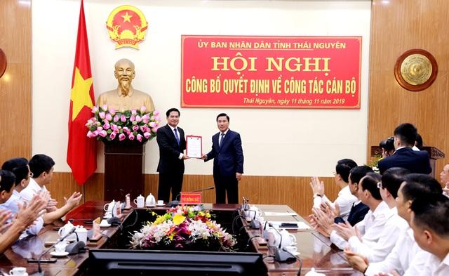 Ông Lê Quang Tiến giữ chức Phó Chủ tịch UBND tỉnh Thái Nguyên - 1