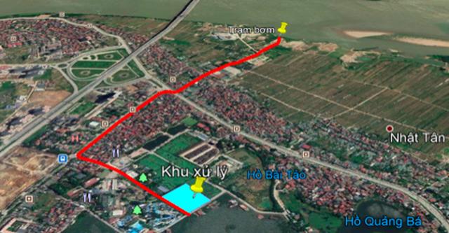 """Hà Nội muốn """"hồi sinh"""" sông Tô Lịch bằng nước sông Hồng - 1"""