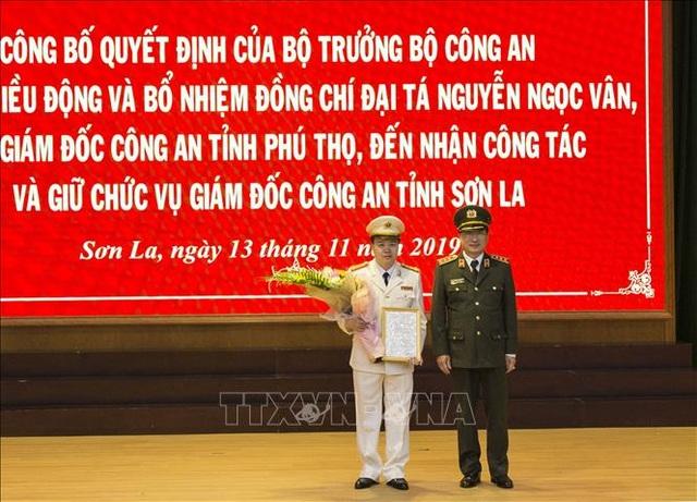 Phó Giám đốc Công an Phú Thọ được bổ nhiệm làm Giám đốc Công an Sơn La - 1