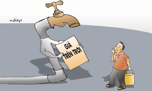 Công dân Thủ đô hết hoảng hốt lại xôn xao chuyện nước - 1