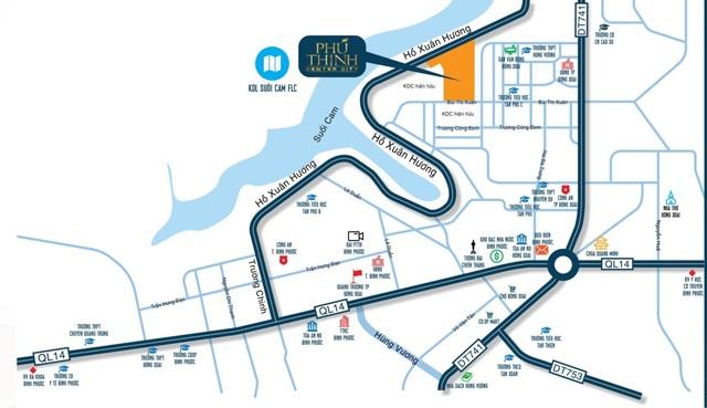 Đất Xanh Central triển khai khu đô thị sang trọng ở Đồng Xoài - 2