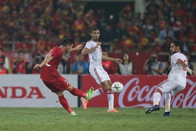 So thành tích của tuyển Việt Nam với các đội đầu bảng ở vòng loại World Cup
