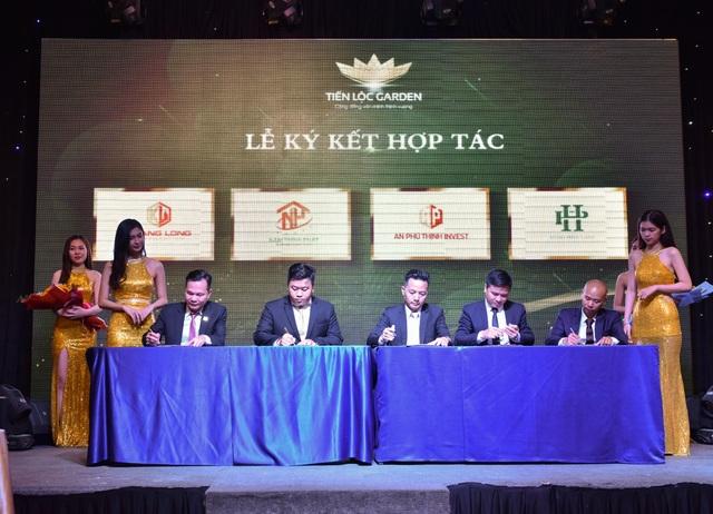 Tiến Lộc Group ký hợp tác phát triển khu đô thị Tiến Lộc Garden - 1