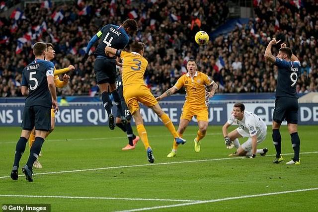 Thắng nhẹ Moldova, tuyển Pháp nhận vé dự Euro 2020 - 1