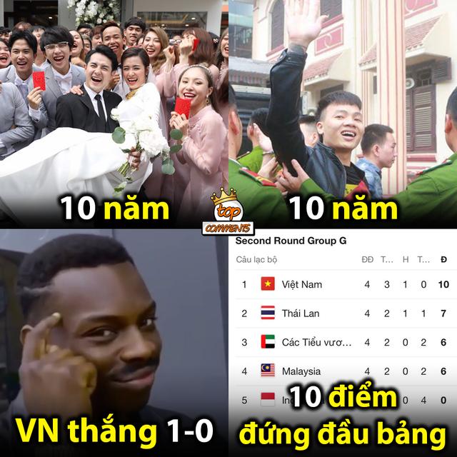 Loạt ảnh chế hài hước và ấn tượng ăn mừng chiến thắng của đội tuyển Việt Nam - 14