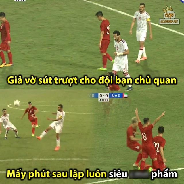 Loạt ảnh chế hài hước và ấn tượng ăn mừng chiến thắng của đội tuyển Việt Nam - 3