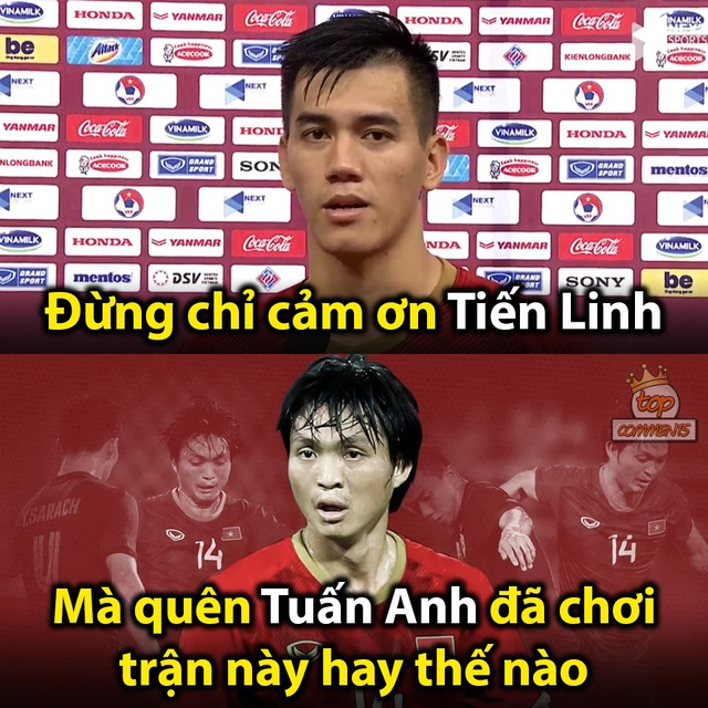 Loạt ảnh chế hài hước và ấn tượng ăn mừng chiến thắng của đội tuyển Việt Nam - 4