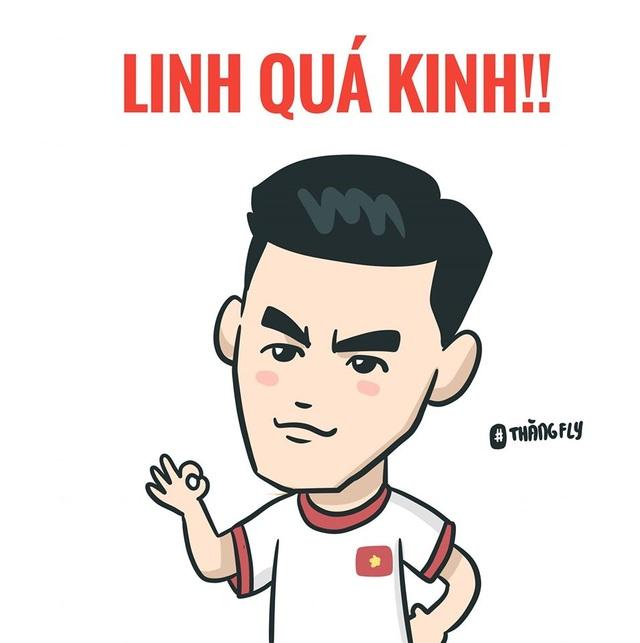 Loạt ảnh chế hài hước và ấn tượng ăn mừng chiến thắng của đội tuyển Việt Nam - 7