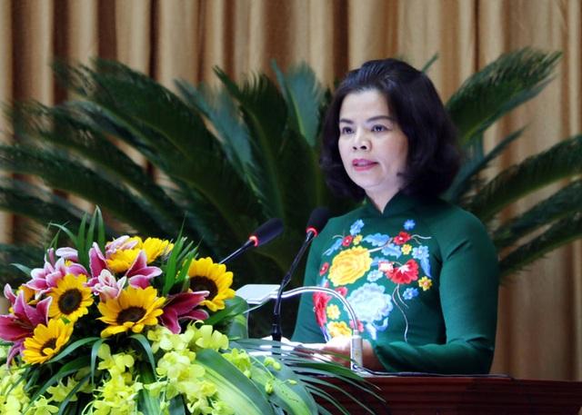 Bà Nguyễn Hương Giang được bầu giữ chức Chủ tịch UBND tỉnh Bắc Ninh - 1