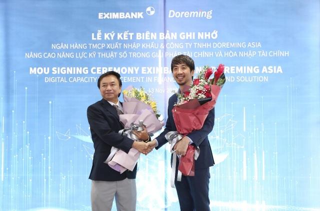 Eximbank ký kết Biên bản ghi nhớ hợp tác với công ty Doreming - 1