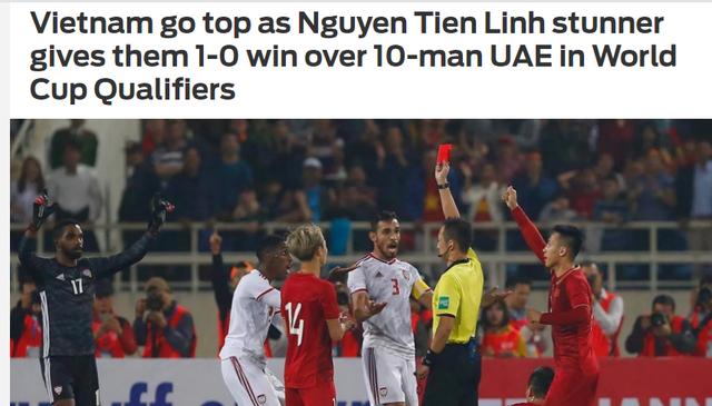 """Báo châu Á: """"Việt Nam đã khiến UAE choáng váng"""""""