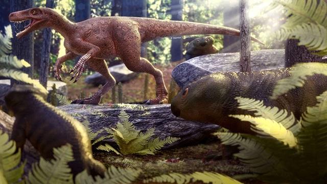 Phát hiện loài khủng long ăn thịt lâu đời nhất thế giới - 1
