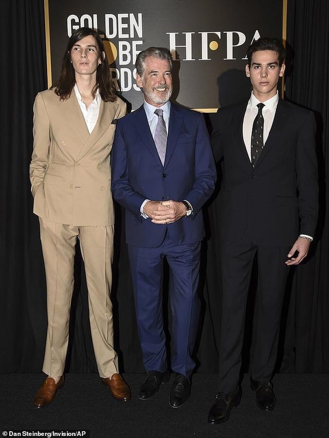 Hai cậu con trai của tài tử Pierce Brosnan trở thành đại sứ Quả Cầu Vàng - 4