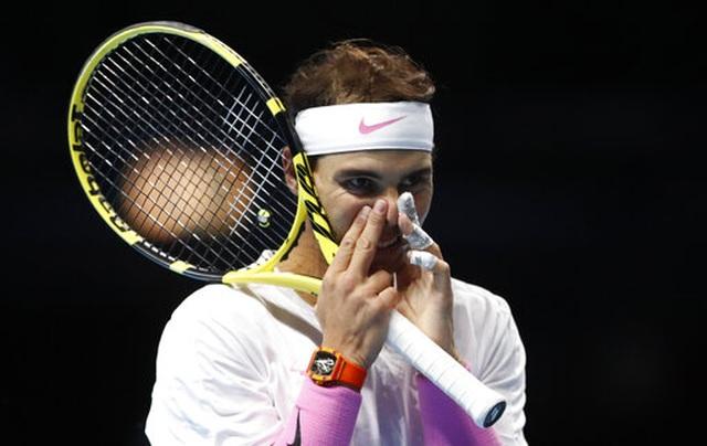 ATP Finals:  Giành chiến thắng trước Tsitsipas, Nadal vẫn bị loại - 1