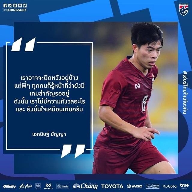 """Ngôi sao Thái Lan: """"Chúng tôi tới Việt Nam để giành 3 điểm"""""""