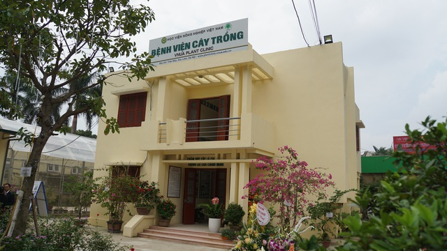 Khai trương bệnh viện chữa bệnh và chăm sóc sức khỏe cho cây trồng - 3